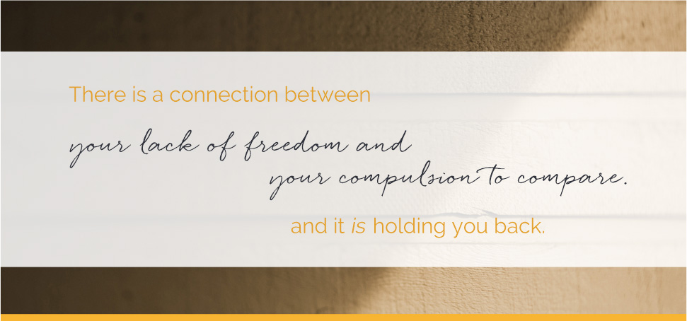 There is a connection… and it is holding you back.
