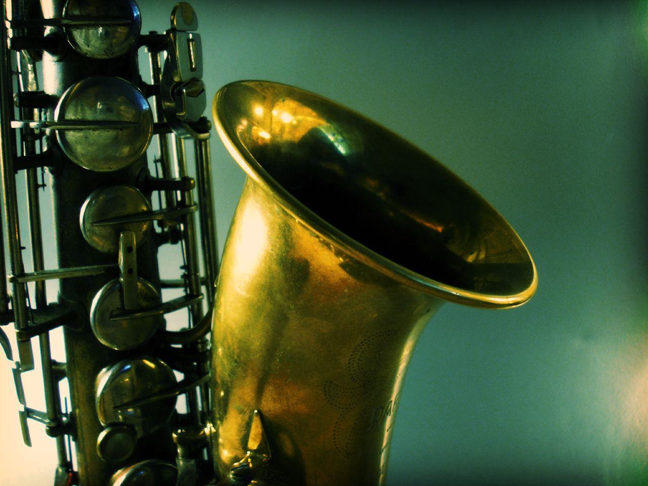 Photo: saxophone