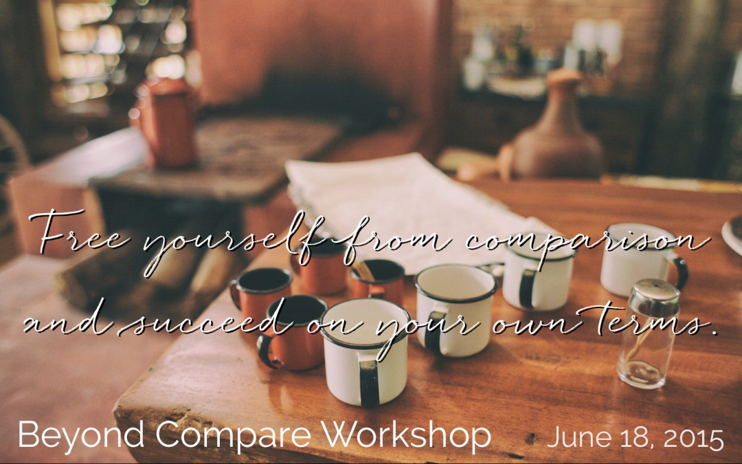 Beyond Compare workshop: June 18, 2015 in Vancouver